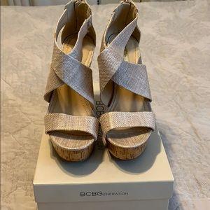 BCBGeneration Shoes - BCBG wedge sandals